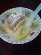 カボチャのロールケーキ